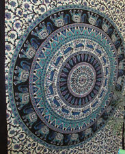 Twin Indian Tapestry Psychedelic Wall Hanging Bohemian Hippie Throw Decor Art