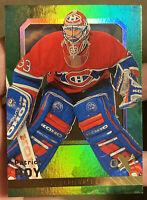 2016-17 Fleer Showcase Patrick Roy Green Ex 2017 Montreal Canadiens Avalanche
