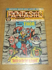 FANTASTIC #58 BRITISH WEEKLY 23RD MARCH 1968 THOR^
