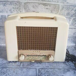 Vintage Collectable Ekco Valve Radio Model U159