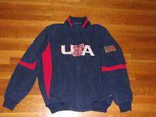 MAJESTIC USA WORLD BASEBALL CLASSIC FULL ZIP JACKET MENS XL EXCELLENT
