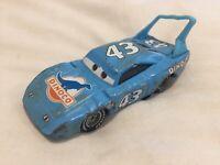 Disney Pixar Cars RACE DAMAGED KING #43 1:55 MATTEL Diecast TOKYO DRIFT MATER