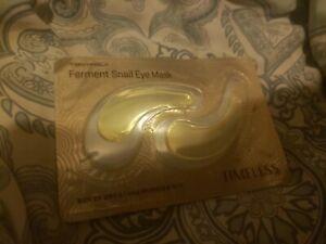 Tony Moly Tonymoly Timeless Eye Mask Ferment Snail Eye Mask 1 Set