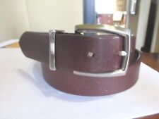 NEW Unisex COACH Ladies Small  Mens 30 Brown Textured Belt GIFT BOX INC sz 30