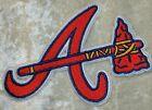 "Внешний вид - Atlanta Braves 3.5"" ""A Tomahawk"" Iron /Sew On Embroidered Patch~FREE SHIP!~"
