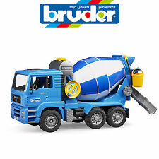 BRUDER 1:16 MAN TGA CEMENT MIXER TOY TRUCK OUTDOOR SAND PIT 2744
