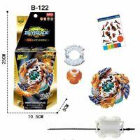 Beyblade Burst B-122 Starter Geist Fafnir.8`.Ab W/ Launcher Kids Christmas Gift