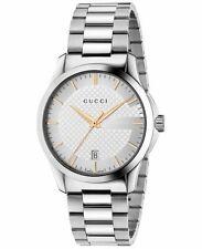 3cbfbd6b41b Gucci G-Timeless Silver Dial Stainless Steel Unisex Watch-YA126442