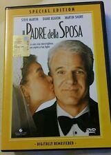 FILM DVD - IL PADRE DELLA SPOSA DISNEY DVD ED ITA BOLLINO SIAE RARO LIVE ACTION