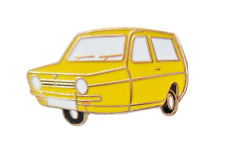 Reliant Robin Mark I 3 Wheeler Panama Yellow Pin Badge