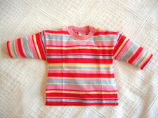 Gestreifte Baby-T-Shirts für Mädchen