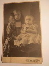 Bremerhaven - Marta und Frida Mörich ? als kleine Mädchen - Portrait / KAB