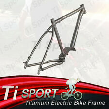 TiSport/Titanium Electric Bike Frame E-bike frame suit for Bafang G510 motor