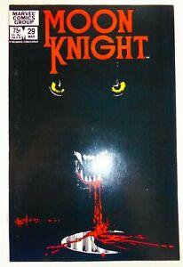 Marvel MOON KNIGHT (1983) #29 Iconic Sienkiewicz Cover Disney+ NM- Ships FREE!
