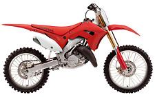 NEW Honda CR 125 / 250 2002 - 2007 Conversion MX Plastics Kit Restyle Motocross