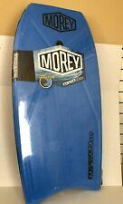"""Blue Morey Boogie Board Mach 9 Tr Tube Rail BodyBoard 42"""" x 21"""" x .5"""" (Read)"""