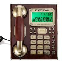 Vintage Rotary Electric Telephone Dial Western Bell Desk Wall Push Button
