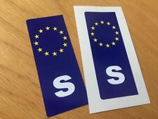 Swedish Euro Number Plate Stickers (Pair)
