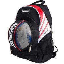 Nassau Soccer Ball Backpack BAG Football Sports Ball Bags NPB-RD Color Red
