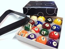 "KIDS Pool Table Balls FREE Triangle 1 & 1/2"" inch SET ON SALE Australian Seller"