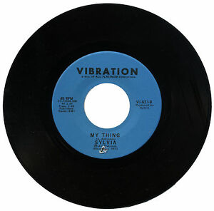 "SYLVIA  ""MY THING c/w PILLOW TALK""    70's   MODERN & CLUB CLASSIC"
