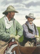 Open Range Kevin Costner Robert Duvall Art Print