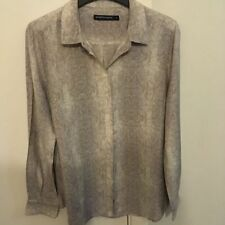 Sportscraft Checked Long Sleeve Button Down Shirts for Women