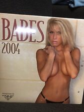 "Authentic 2004 Babes Calendar Beautiful Girls in Sexy Bikinis 12"" X 12"" SEALED"