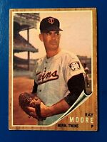 1962 TOPPS #437 RAY MOORE