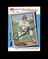 Rollie Fingers Hand Signed 1982 Kmart Milwaukee Brewers Autograph