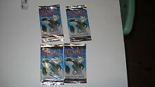Free Willy 2 trading cards - 1995- 4 packs a