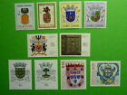LOT 5328 TIMBRES STAMP HERALDIQUES DIVERS PAYS ANNEE 1957-84