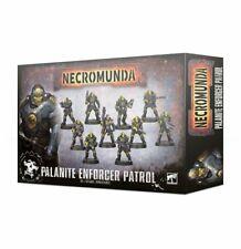 Warhammer 40k Necromunda Palanite Enforcer Patrol new in box