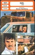 FICHE CINEMA : DUEL - Weaver,Scott,Spielberg 1971