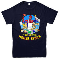 Domestic Spider T-shirt, Funny, The Domestic House Spider Gift Top