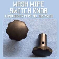 Land Rover Series 3 Wash Wipe Switch Knob 90575153
