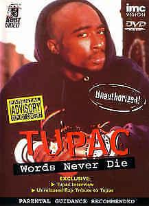 Tupac - Words Never Die DVD