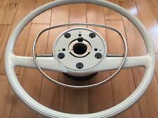 Mercedes Pagoda w113 w108 w109 fits 280SL 280 steering wheel Ivory newly recond