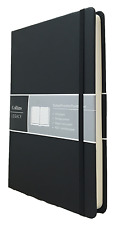 Collins Legacy Hardback A5 Dot Notebook Dotted Paper Pages Black Book 240pp