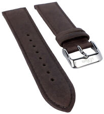 S.Oliver Wristwatch Strap Leather Band Braun 20mm SO-3102-LQ