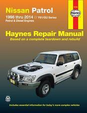 Haynes Repair Manual Nissan Patrol GU Diesel 1998-2014 WORKSHOP SERVICE BOOK