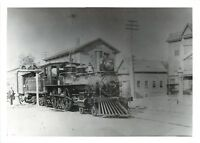 Watch Out For Train Photograph~New York & New England~Railroad Engine 1956
