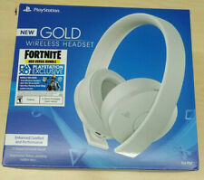 Sony PlayStation 4 Gold Wireless Headset Fortnite Neo Versa Bundle 2000 Vbucks
