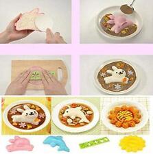 4x Sweet Sushi Maker Rice Onigiri Mold Mould Punch DIY Bento Reusable Durable CB