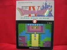 Dragon Warrior (Quest) IV 4 Piano Sheet Music Book/NES