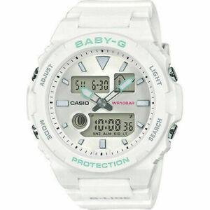 Casio Baby-G White Mint Green BAX100-7A BAX-100-7A