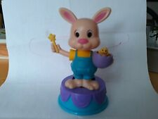 Solar Powered Dancing Bobblehead Easter Bunny Toy New