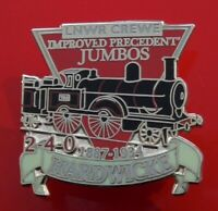 Danbury GB Locomotive Train Used Enamel Pin Badge LNWR Crewe 2-4-0 Hardwicke