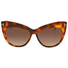 Tom Ford Nika Brown Gradient Cat Eye Sunglasses