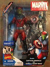 Marvel Universe BUCKY CAPTAIN AMERICA & GIANT MAN SKRULL Walmart Exclusive